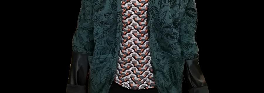 Une veste confortable pour Noémie